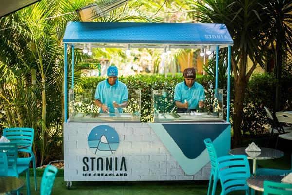 Na Asa Sul, o sorvete servido de diferente ganhou carrinho próprio  (Rômulo Juracy)