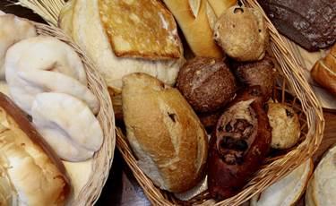 A variedade de pães é um dos destaques na Belini Pães e Gastronomia (Ana Rayssa/Esp. CB/D.A Press)