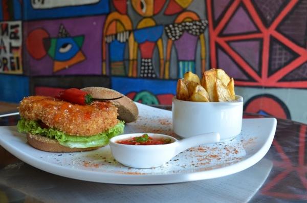 A geleia de pimenta confere ao hambúrguer um sabor agridoce e picante (Ana Carneiro/Esp. CB/D.A Press)