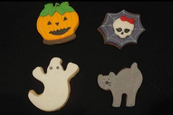 Os minichefs vão aprender a fazer cookies temáticos de halloween (Cozinha do MiniChefe/Divulgacao)