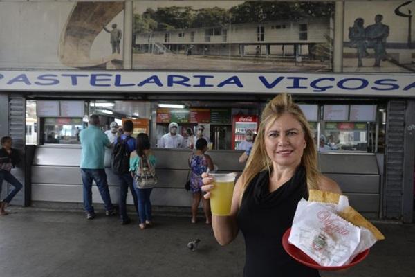 Patrícia Rosa mantém a tradição, mas adiciona novos sabores no cardápio  (Marcelo Ferreira/CB/D.A Press)
