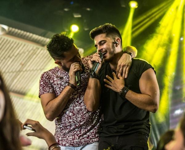 A dupla Zé Felipe & Miguel se apresentará na Bamboa (Arquivo Pessoal. Dupla Zé Felipe & Miguel.)