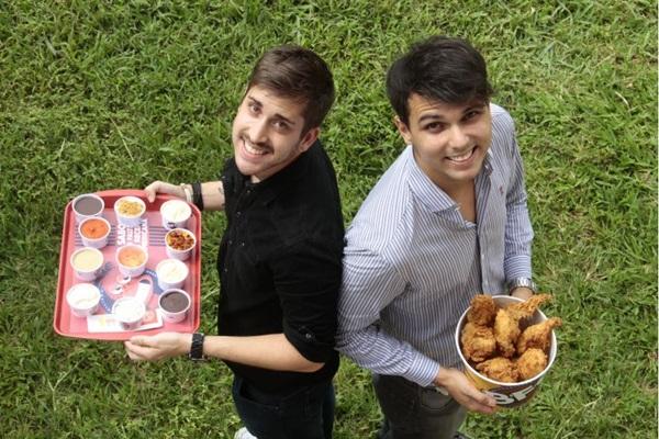 Igor Campos e Thierry Silva foram buscar inspiração nos EUA para abrir o BFC   (Ana Rayssa/Esp. CB/D.A Press)