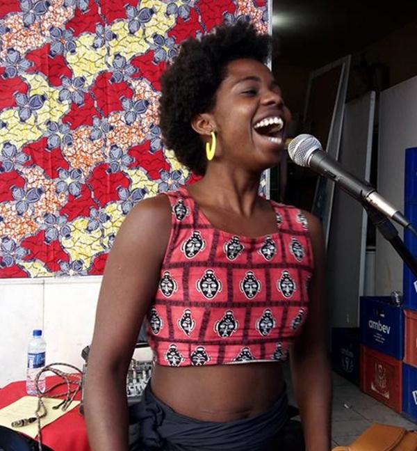 Nanãn Matos é uma das atrações confirmadas na feijoada das mulheres (Frente de Mulheres do DF/Divulgação)