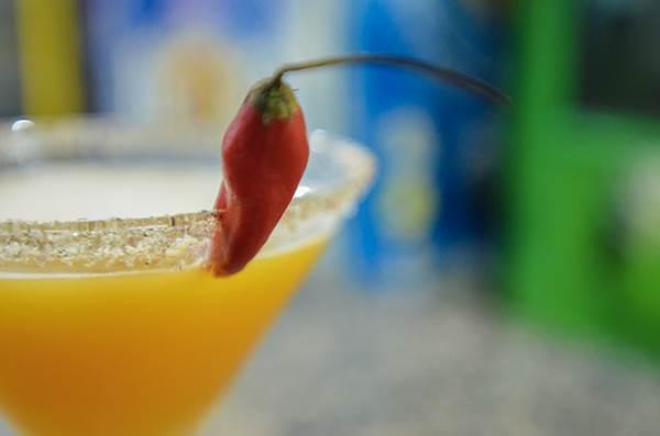 No 5uinto Bar, a pimenta não está apenas nos petiscos, mas também nos drinques da casa (Ana Carneiro/Esp. CB/D.A Press)