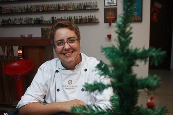 A chef Raquel Amaral aposta em receitas simples e deliciosas no fim do ano (Barbara Cabral/Esp. CB/D.A Press)
