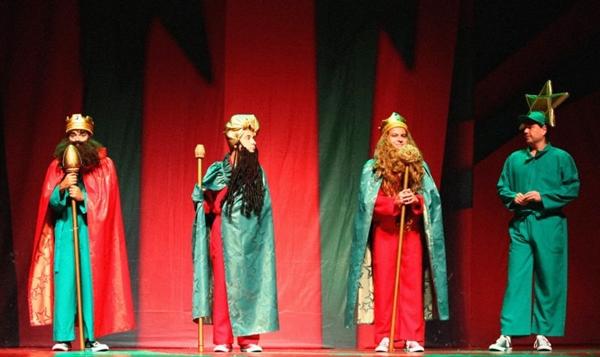 A apresentação de Dingou béus já é uma tradição no fim de ano brasiliense (Melhores do mundo/Divulgação)