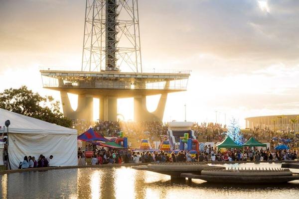 O festival Picnik une muita música a diversas ações recreativas (Tomás Faquini)