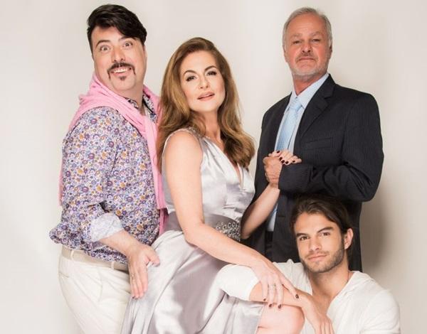 A história de três casamentos em um mesmo espetáculo (Pino Gomes/Divulgação)