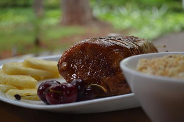 O lombo suíno é um dos clássicos presentes à mesa no fim do ano   (Ana Carneiro/Esp. CB/D.A Press)