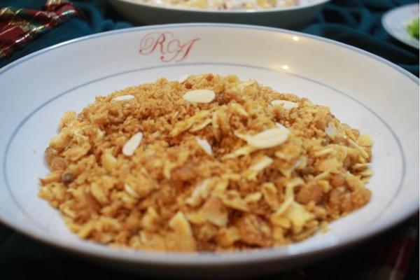 Farofa de biscoito da Chef Raquel Amaral (Barbara Cabral/Esp. CB/D.A Press)