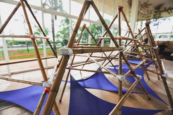 O mundo bambu realiza atividades paralelas ao festival de cinema (Divulgação/Reprodução)