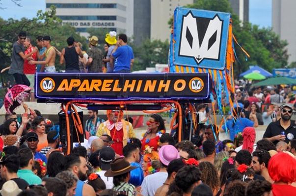 Bloco Aparelhinho será uma das atrações do evento (Minervino Junior/CB/D.A Press)