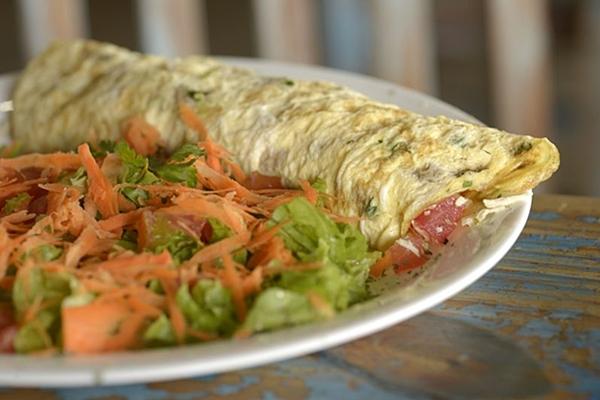 O omelete é um dos queridinhos do Praia Surf   (Carlos Vieira/CB/D.A Press)