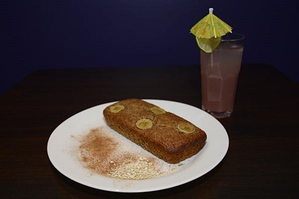 Bolo de banana não leva farinha de trigo nem leite no Fica, vai ter bolo  (Andre Violatti/Esp. CB/D.A Press)