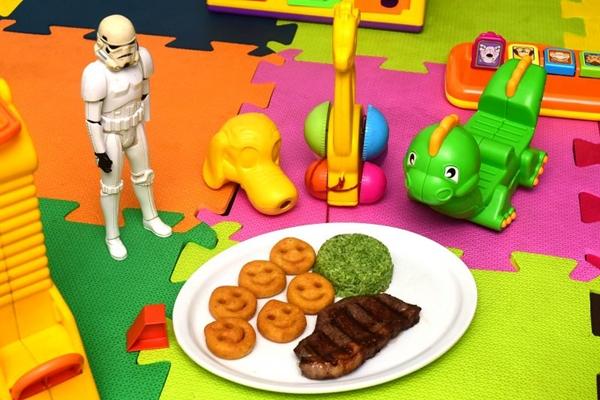 A brinquedoteca é um dos atrativos do BSB Grill  (Antonio Cunha/CB/D.A Press)