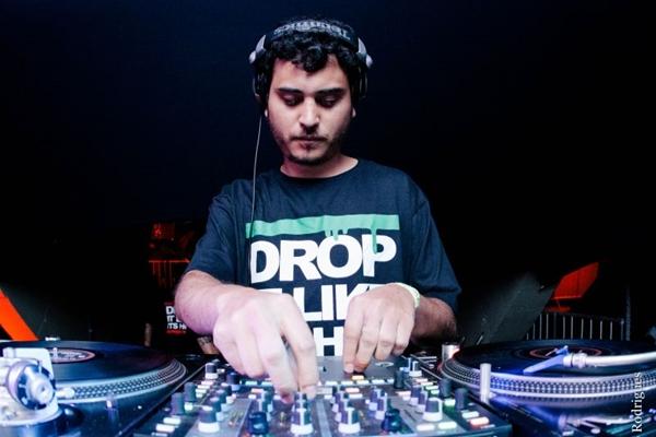 Dj Hugo Drop agita a festa Drops (Arquivo Pessoal)