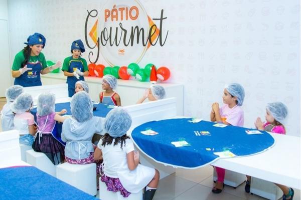 A criançada vai aprender a fazer pãezinhos no Pátio Brasil (Fábio Mira/Divulgação)
