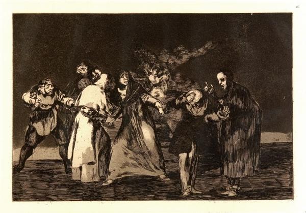 Exposição Loucuras anunciadas %u2014  Francisco de Goya terá visita guiada sábado (13/1) (Francisco de Goya/Divulgacao)