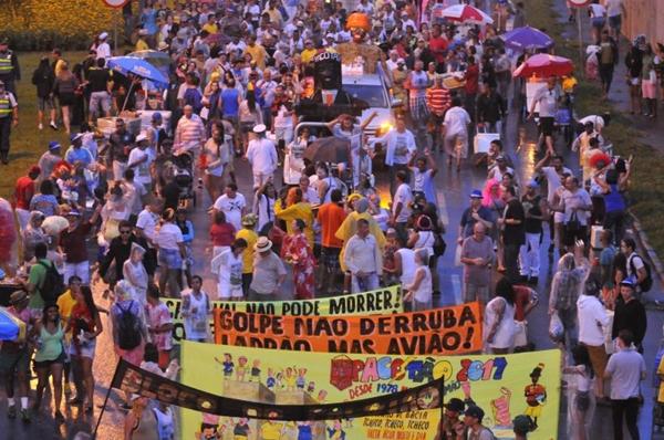 Bloco Pacotão sai na segunda-feira de carnaval  (Minervino Junior/CB/D.A Press)