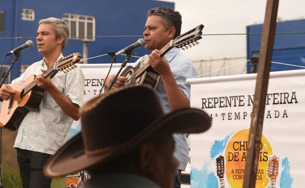 A feira de Ceilândia resgata a cultura nordestina no DF (Ed Alves/CB/D.A Press)