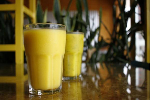 Os sucos refrescantes do Manati combinam com verão! (Ana Rayssa/Esp. CB/D.A Press)