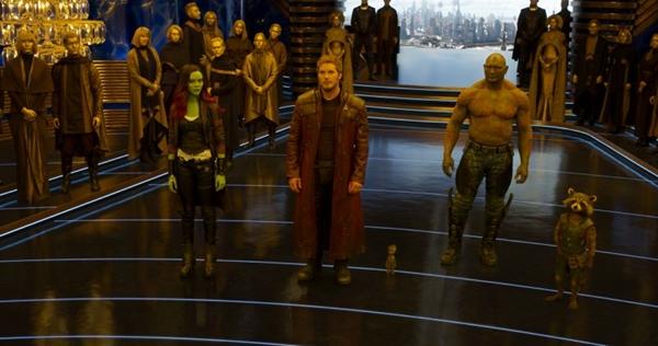Filme 'Guardiões da galáxia vol. 2' será exibido neste domingo (21/1) no Telecine Premium (Film Frame/Marvel Studios)