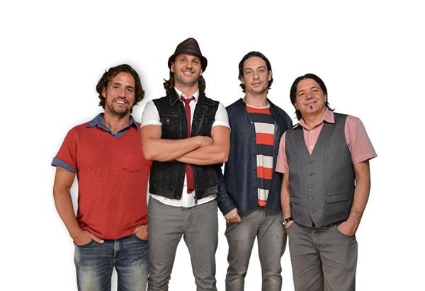 O grupo Falamansa encerra a turnê Lá da alma, hoje, na capital federal  (Objetiva Assessoria/Divulgação)