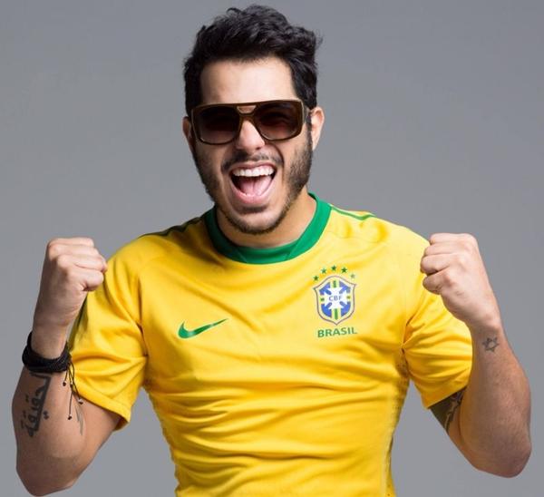 O cantor Tomate será a principal atração da Stage Music (Jusci Lene Lima/Divulgação)