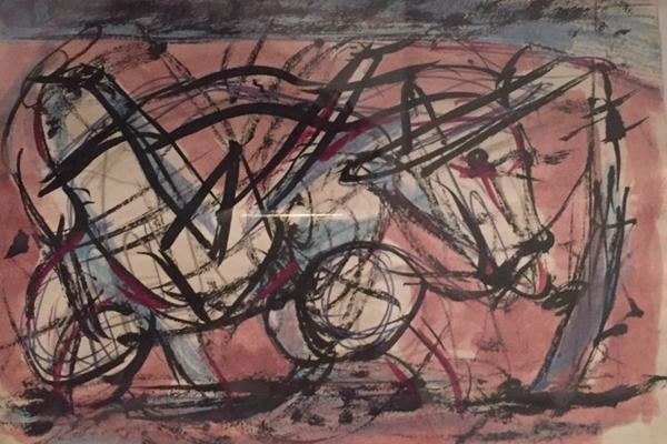 Em Desenhos, Nelson Maravalhas revisita obras feitas de 1988 a 1996  (Reprodução/Divulgação)