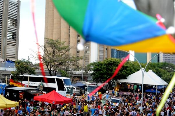 O Menino de Ceilândia leva o passos do frevo ao carnaval (Barbara Cabral/Esp. CB/D.A Press)