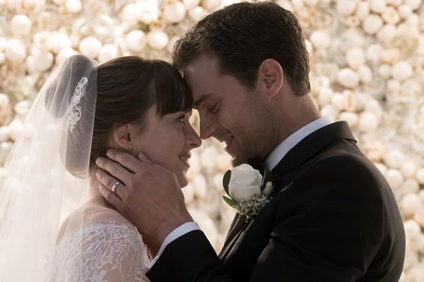 Será o  desfecho do romance tórrido entre Christian Grey e Anastasia Steele  (Reprodução/Internet)