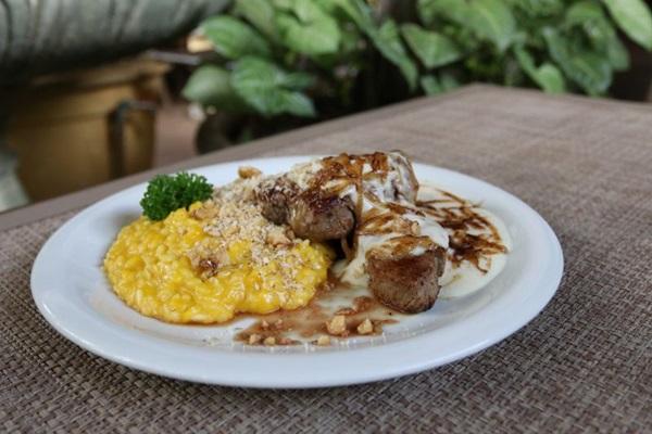 O Filetto Maria Bonita tem inspiração na culinária nordestina (Arthur Menescal/Esp. CB/D.A Press)