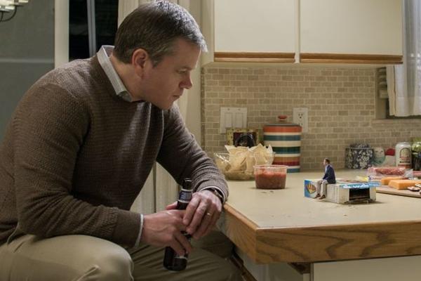 Matt Damon estrela o filme 'Pequena grande vida'  (Reprodução/CB/D.A Press)