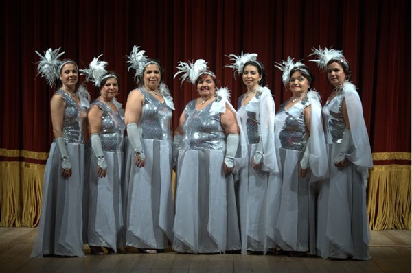 O coral Edgard Moraes é composto por filhas, netas e bisnetas do compositor (Léo Caldas/Divulgação)