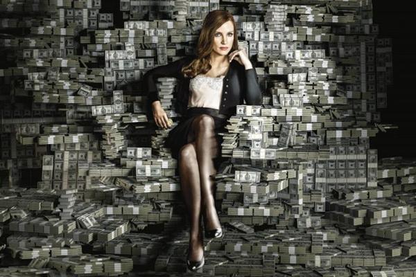 'A grande jogada' traz Jessica Chastain em papel de destaque (Reprodução/CB/D.A Press)
