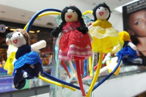 LG: Feira exibe trabalhos de artesãos do DF (Thaiane Zampierre/Divulgação)