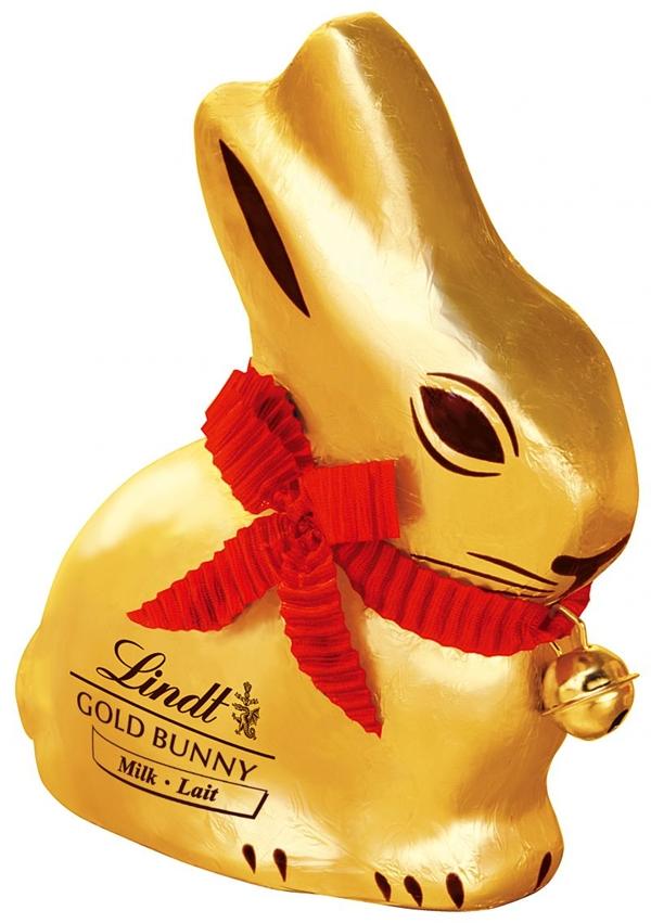 Gold Bunny, da Lindt (Lindt/Divulgação)