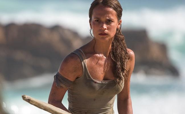 A Lara Croft de Alicia Vikander merecia ser mais bem tratada pelo diretor e pelo roteiro (Reprodução/Internet)
