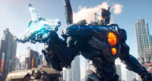 Robôs Kaijus voltam a ameaçar a Terra num roteiro recheado de piadinhas, ação e embate entre o bem e o mal (Reprodução/Internet)