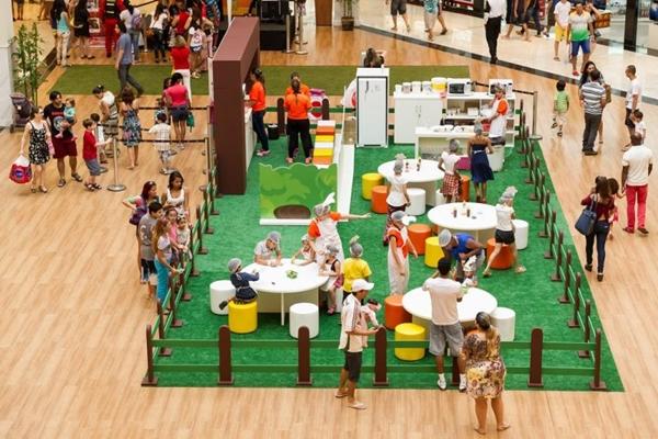 Crianças poderão interagir com robôs no JK Shopping  (Destak Comunicaão/Divulgação)