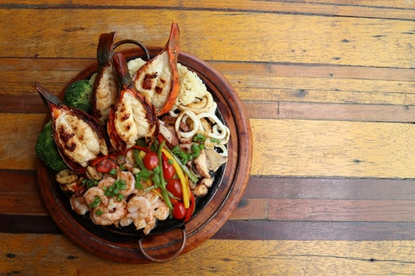 Os frutos do mar são uma alternativa para quem não gosta de peixe   (Arthur Menescal/Esp. CB/D.A Press)