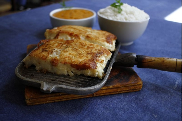 O restaurante Nosso Mar trabalha apenas com peixes de água salgada   (Ana Rayssa/Esp. CB/D.A Press)