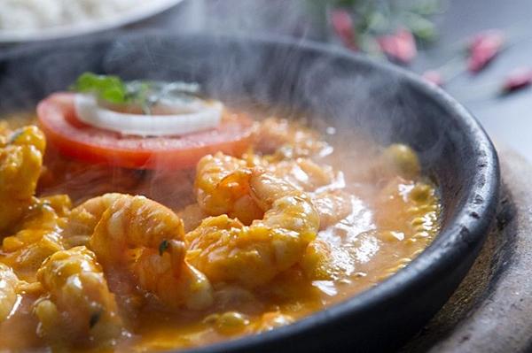 O bobó de camarão é um dos pratos mais baianos do Ki-mukeka (Júnior Aragão/Divulgação)