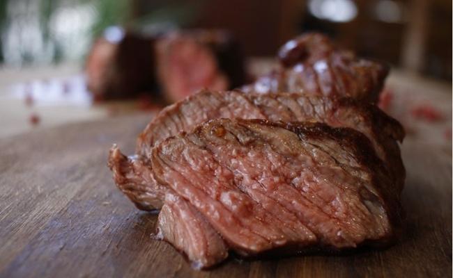 A carne utilizada no Asa Gaúcha é de bois de raças britânicas ( Ana Rayssa/Esp. CB/D.A Press)