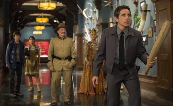 A trilogia do filme 'Uma noite no museu' será apresentada neste sábado (7/4) no canal Fox (Fox/Divulgação)