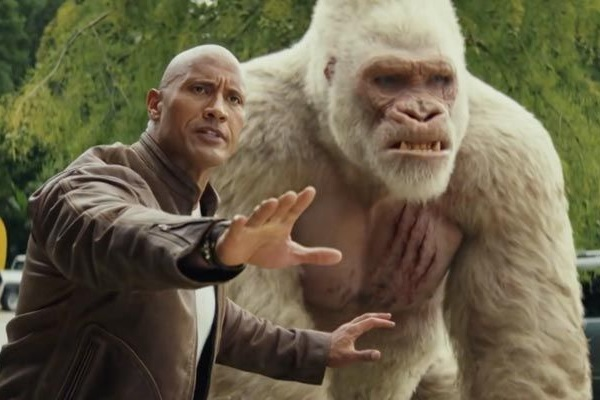 Nem os efeitos visuais salvam Rampage: destruição total (Warner Bros/Divulgacao)