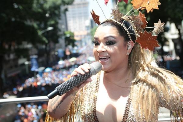 Cantora Preta Gil é uma das atrações do aniversário de Brasília (Felipe Panfili /Divulgacao)