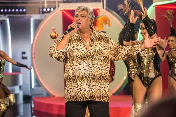Sidney Magal comemora os 58 anos do Iate Clube. (Globo/Pedro Curi)