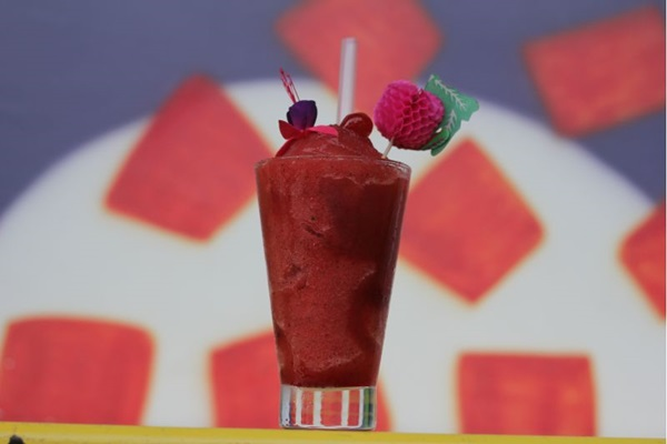 A Margarita frozen é uma pedida para dias quentes (Barbara Cabral/Esp. CB/D.A Press)